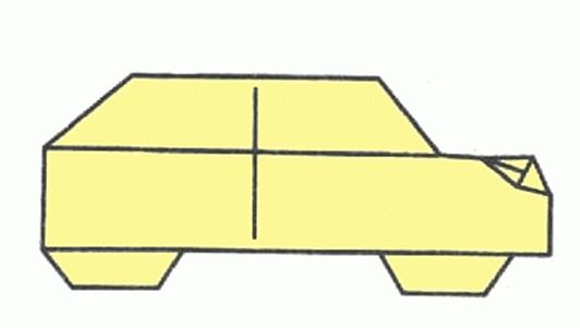 Схемы оригами - Транспорт
