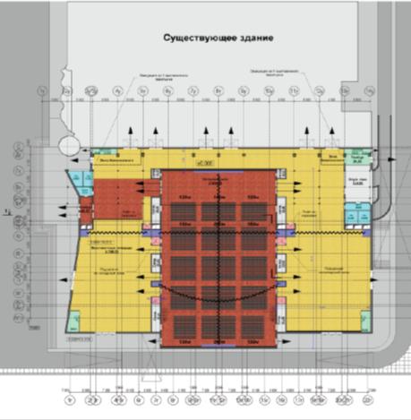конгресс – холла сбалконом