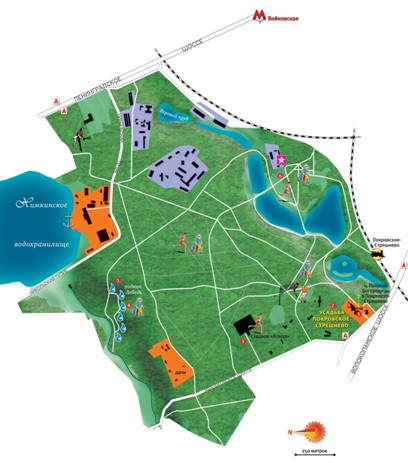 План-схема парка «