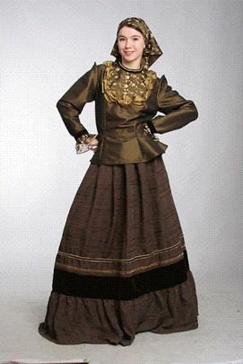 костюм для кадрили (женский городской костюм). компе. .  Никто не говорит, даже если знает. казачий костюм. на. а...