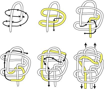 Потолочный узел, схема