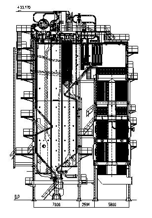 Схема НТВ котлаБКЗ
