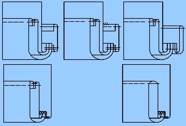 Рисунок 14 - Схемы МТО низа