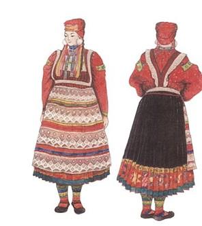 Женский Костюм Иркутской Губернии
