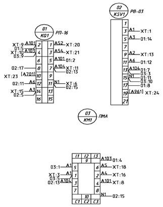 Монтажно-коммутационная схема