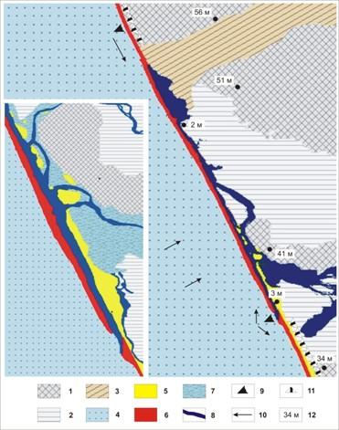геоморфологическая схема