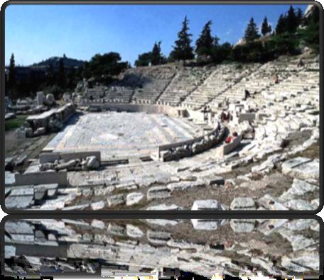 Схема Древнегреческого театра