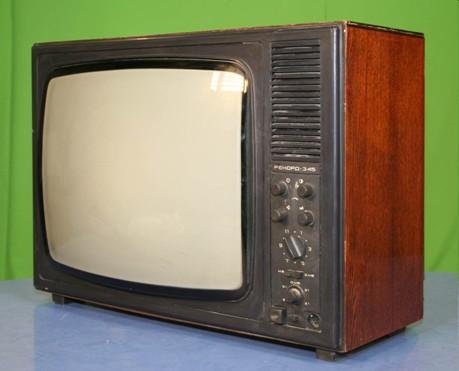 """Телевизор """"Рекорд-345""""."""