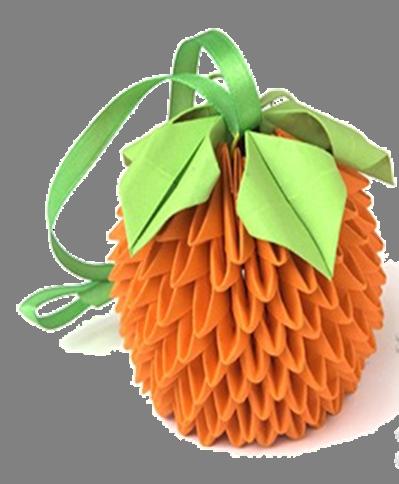 Апельсин из модулей