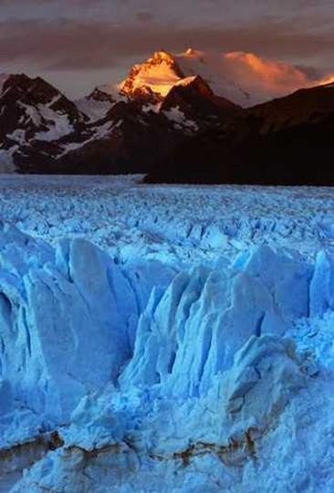 Лед ледника образуется из снега если