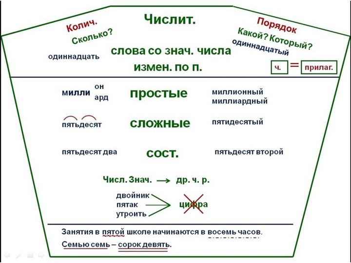 схемыОпорные конспекты