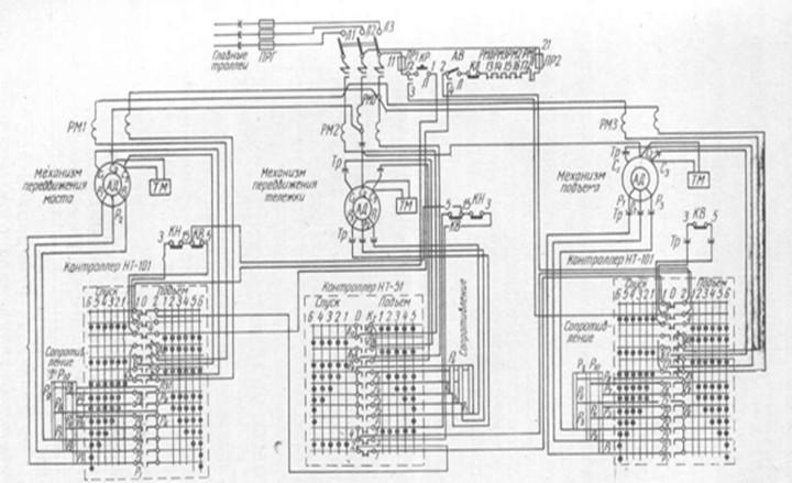 Схема управления асинхронными